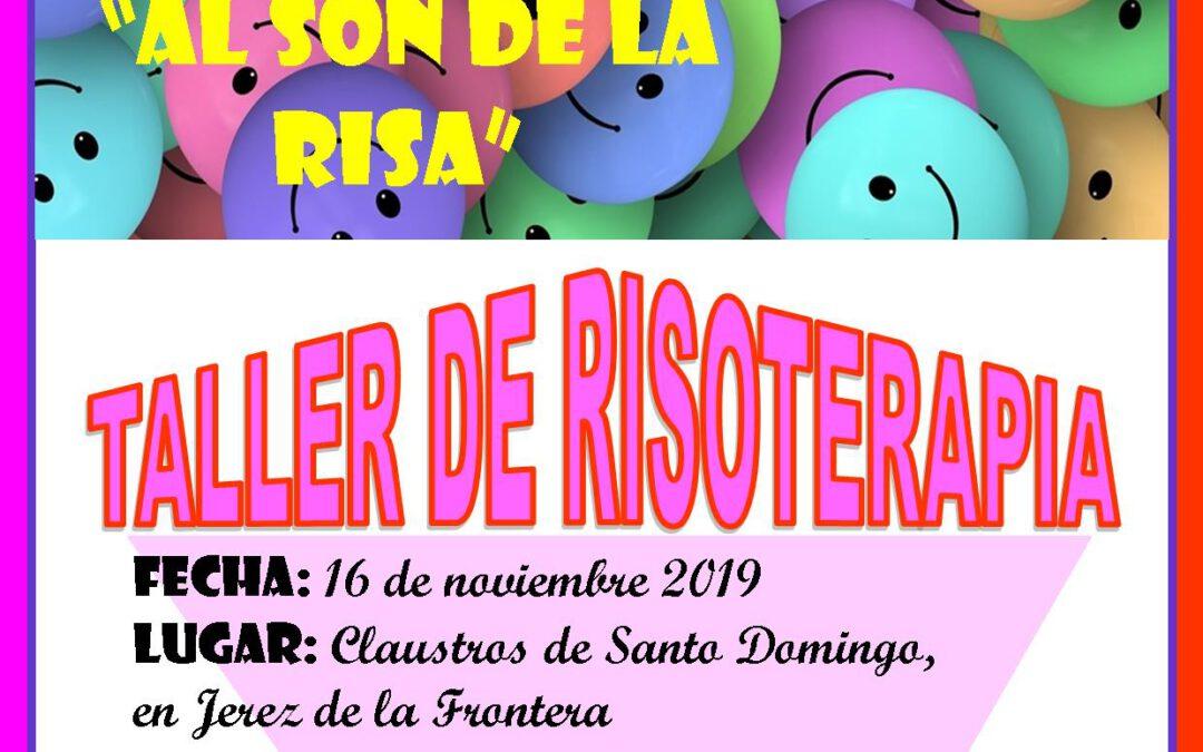 NUEVO TALLER DE RISOTERAPIA EL DÍA 16 DE NOVIEMBRE DE 2019